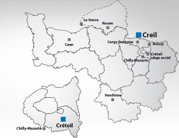 Région Aprolis IDF-Normandie-Centre