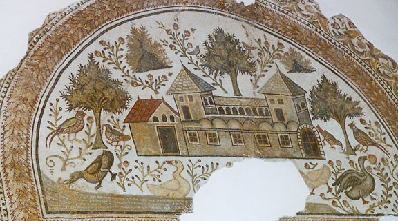 Villa romana bajoimperial