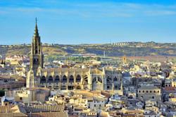 Catedral de Toledo desde el mirador