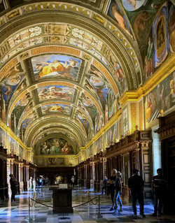 El Escorial-Biblioteca Real