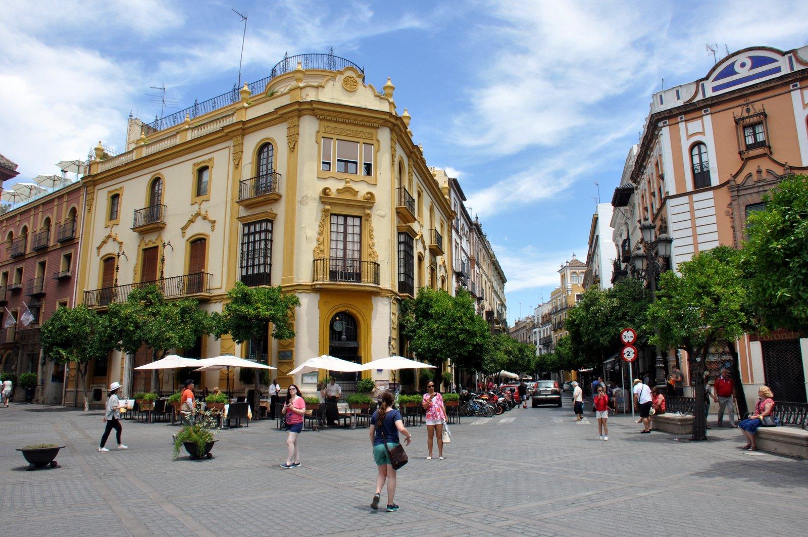 Callejeando por Sevilla