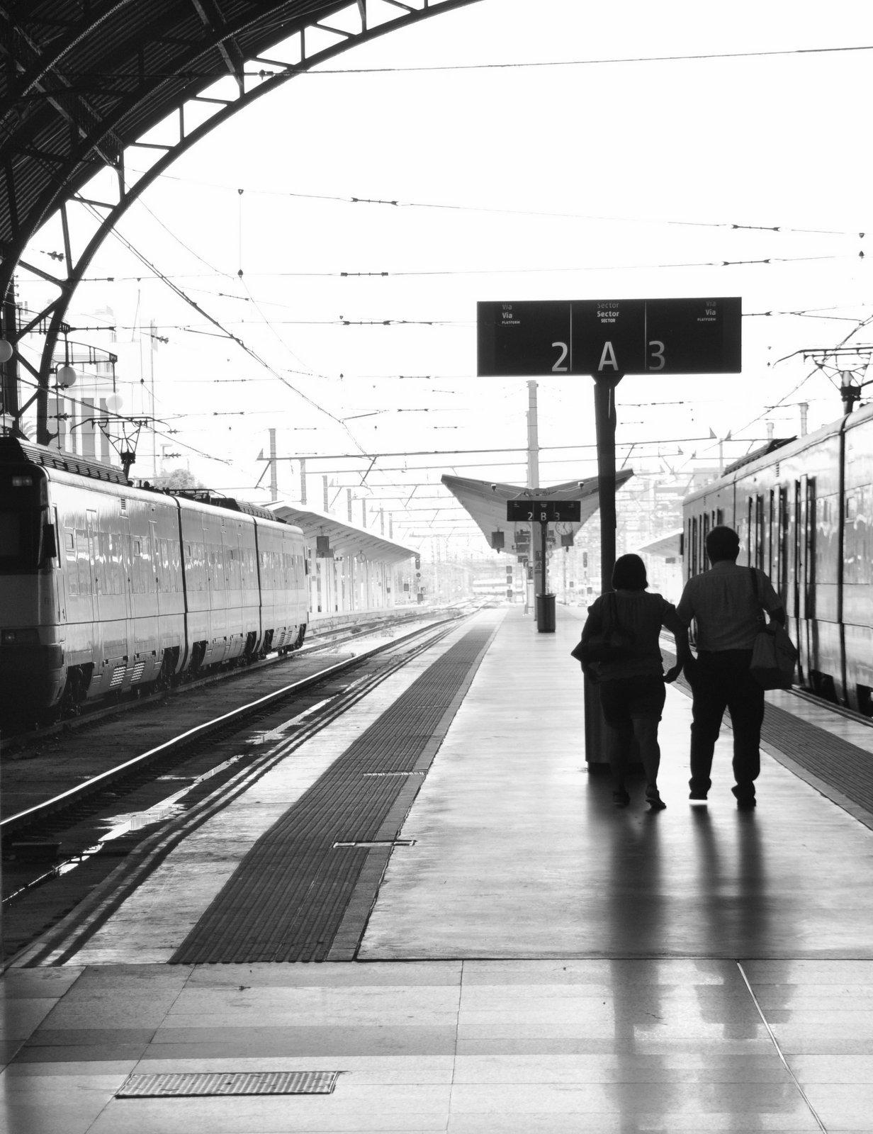 Estacion Nord de trenes