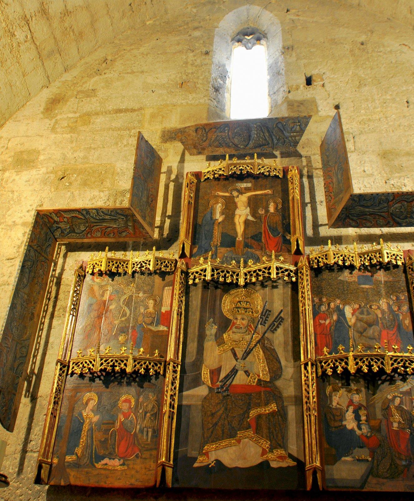 Retablo del siglo XV