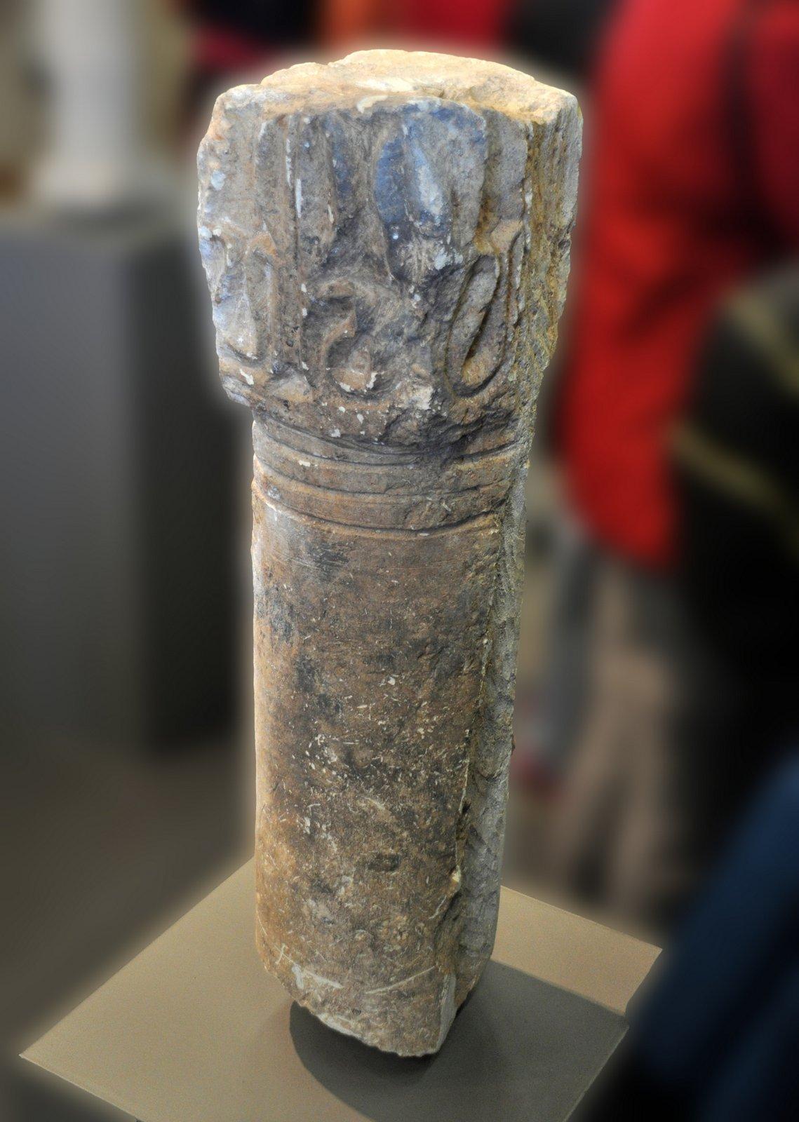 Columna capitel