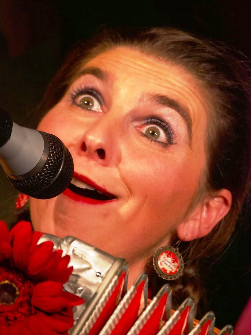 Spectacle Concert Loufoque, Clown, Accordeon