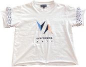 Frill Tee (White) - $33 (Child) / $35 (Adult)