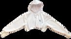 Crop Hoodie (White) - $46 (Child) / $53 (Adult)