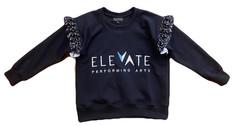 Frill Sweater (Black) - $44 (Child) / $46 (Adult)