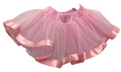 Pink Skirt with Ribbon - $22