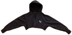 Crop Hoodie (Black) - $46 (Child) / $53 (Adult)
