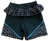 Bike Shorts with Frill - $40