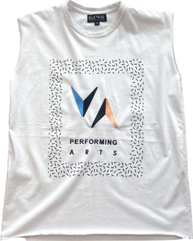 Tank Top (White) - $33 (Child) / $36 (Adult)