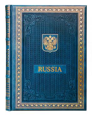 """книга """"о России"""" (на трёх языках) английский, китайский, японский."""