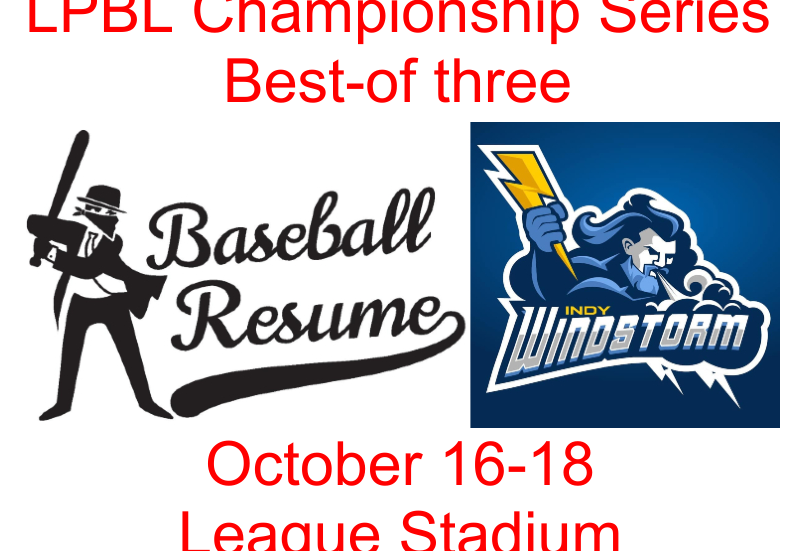 Windstorm, Bandits to meet in championship series