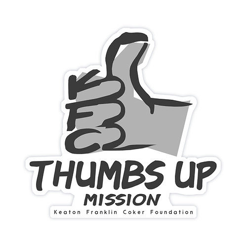 Thumbs Up Sticker - Die Cut Sticker