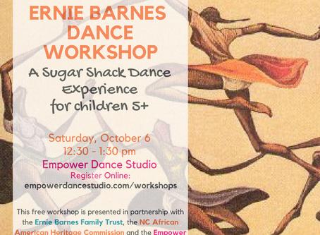 Let's Dance! Ernie Barnes Community Class