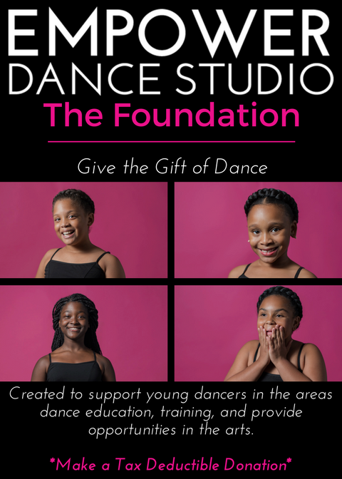 Make a tax deductible donation to scholarship a young dancer in need!