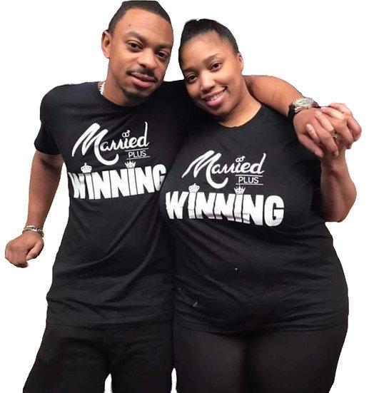 Thee Original Married Plus Winning Tee