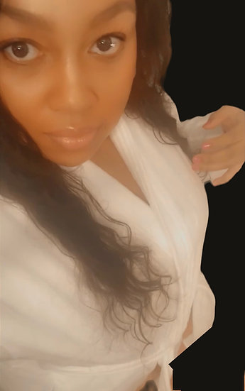 Luxury White MPW Robe