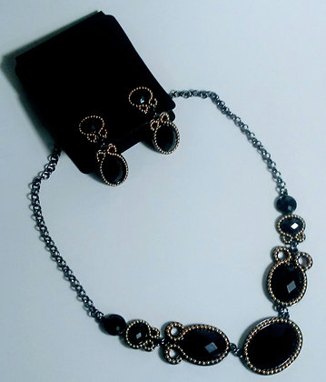 Morana Set B2 Necklace+Earrings