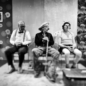 Wenn Theobald kommt - Drei Renter im Wahn, Rex Theater, Saas-Fee, CH 2020