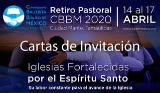 Cartas de Invitación CBBM 2020