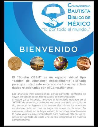 Boletín CBBM. ¡Bienvenidos!