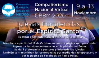 Inscripción a Compañerismo Nacional Virtual 2020