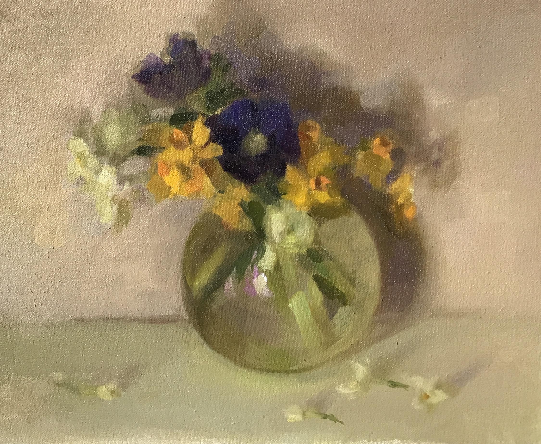Narcissus & Anemones