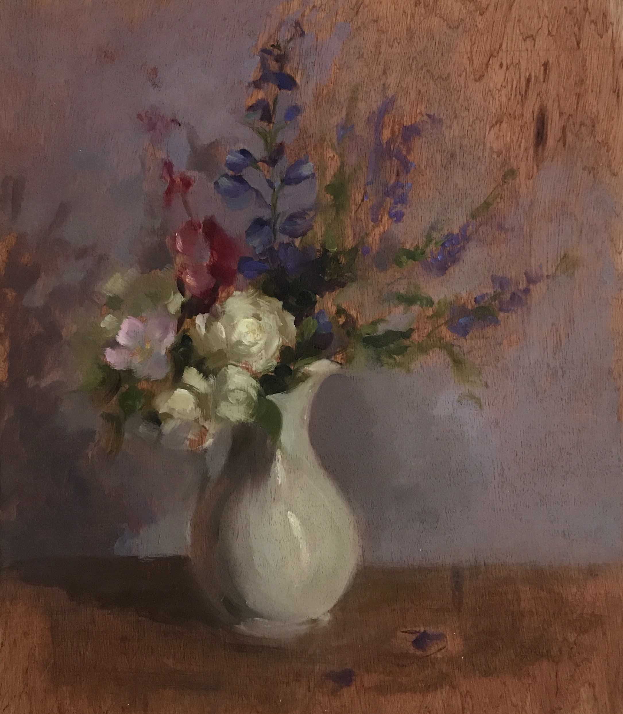 Garden Bouquet & Delphiniums