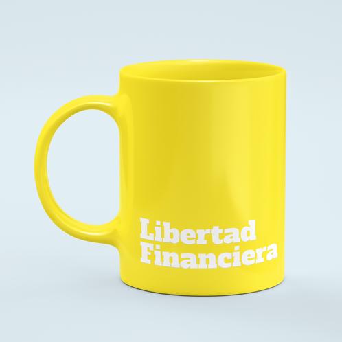 Libertad Financiera taza