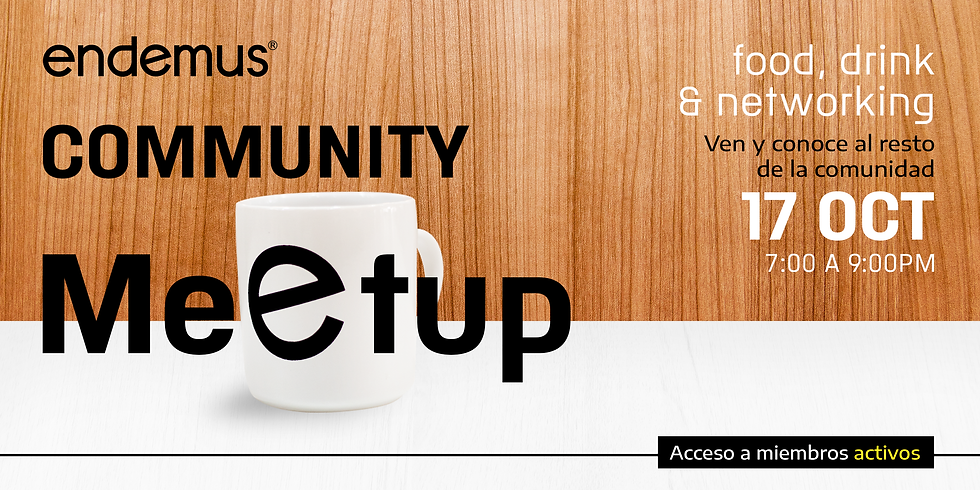 Meetup Community Endemus