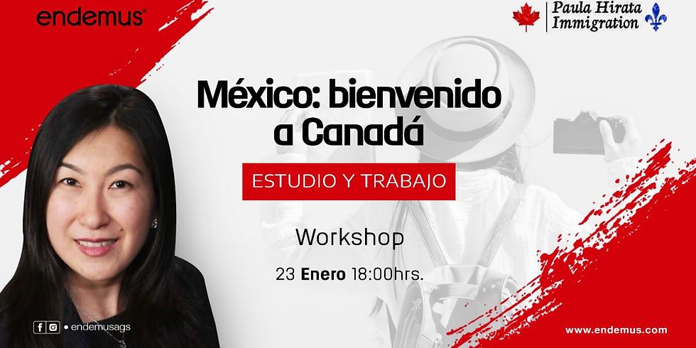 Workshop: Estudio y trabajo en Canadá