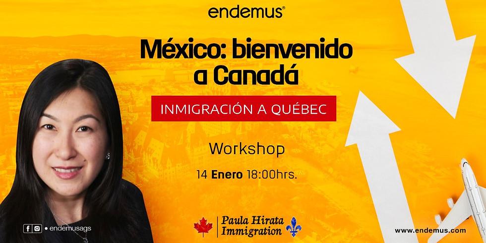 Workshop: Inmigración a Quebec