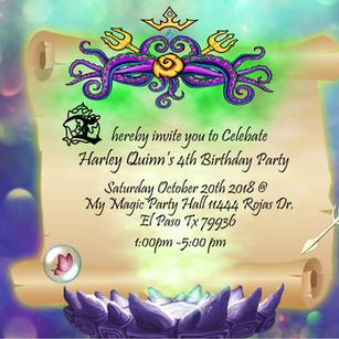 Mock Invitation