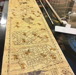 The Marauder's Map Game Print