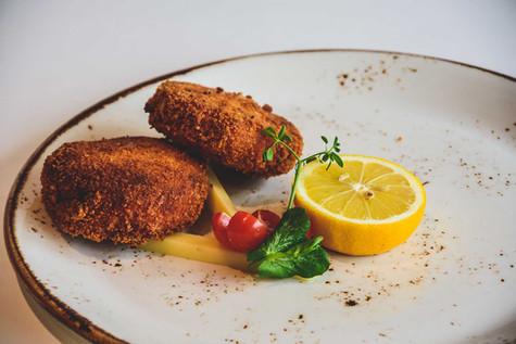 Restaurant Vital - Kaas- en garnaalkroketten