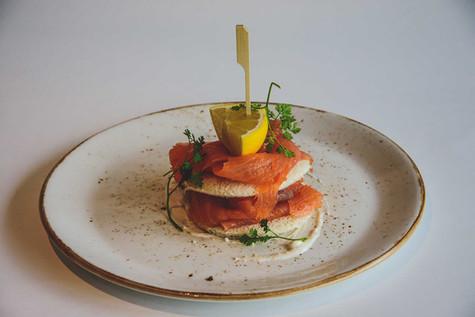 Restaurant Vital - Zalm Toast