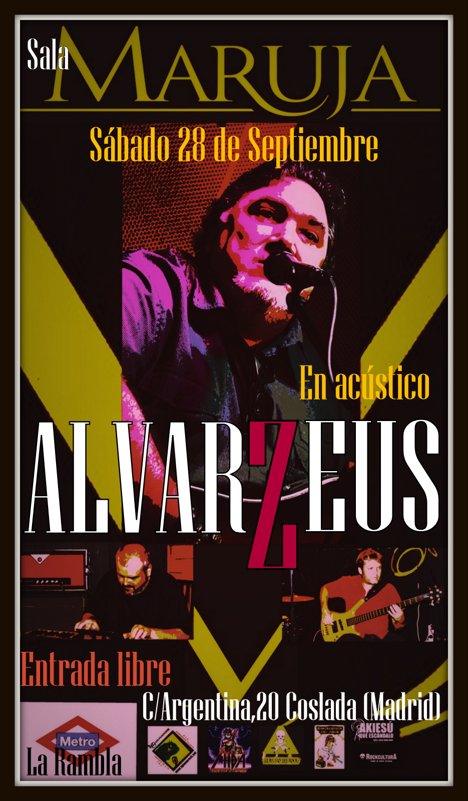 Alvarzeus (Sala Maruja 28-09-2013)