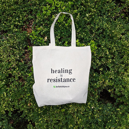 Healing Is Resistance - Tote Bag