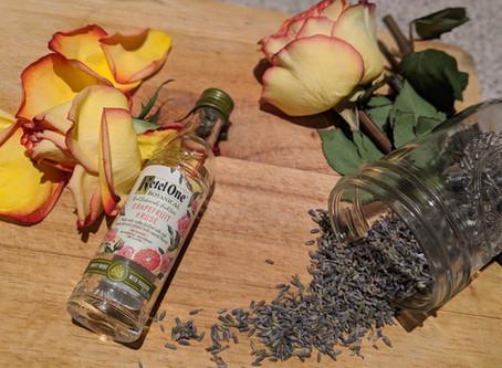 DIY Grapefruit, Lavender & Rose Botanical Cologne
