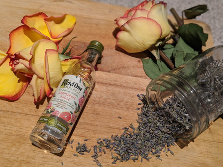 DIY Grapefruit, Lavender & Rose Botanical Cologne