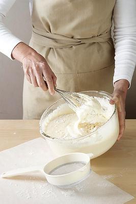 Robiąc ciasto