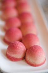 Strawberry & White Chocolate Truffles