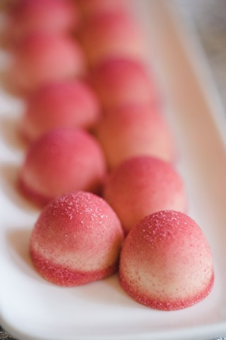 Strawberry & White Chocolate Truffles