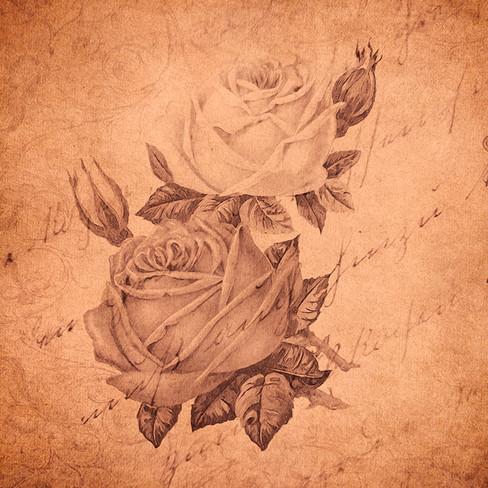 0384 vintage roses & a letter.jpg