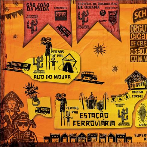Ilustração para Schincariol / Voe Idéias