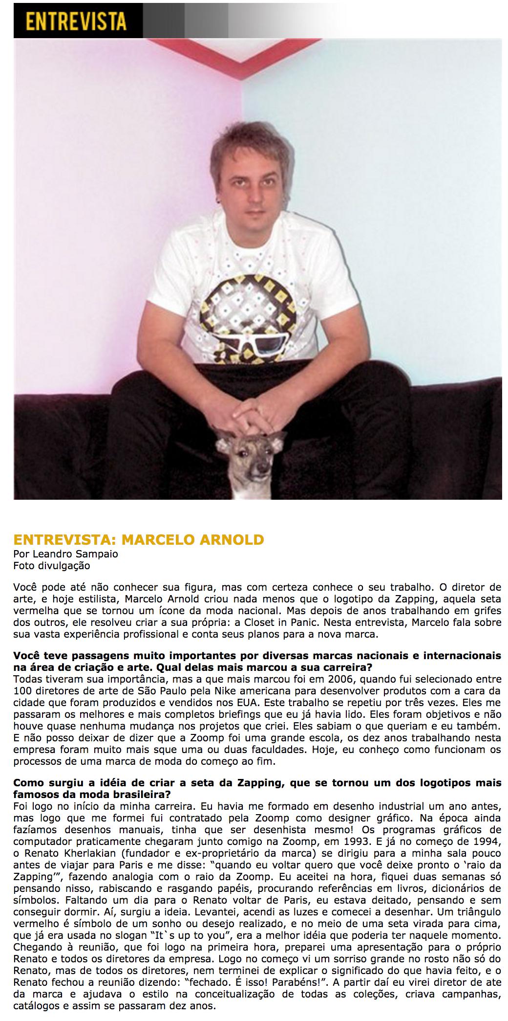 Entrevista Marcelo Arnold