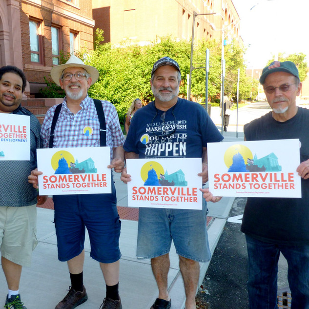 Somerville Stands Together