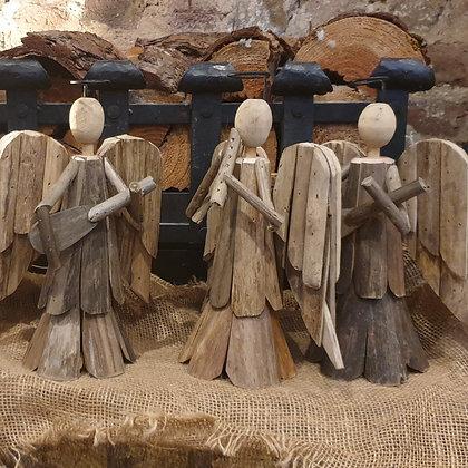 Driftwood Angel Ornament